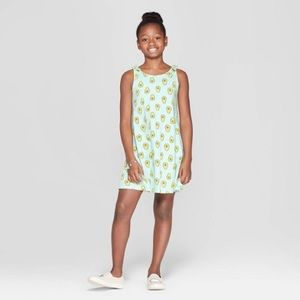 Girls Avocado Dress XS